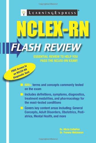 9781576858936: NCLEX-RN Flash Review