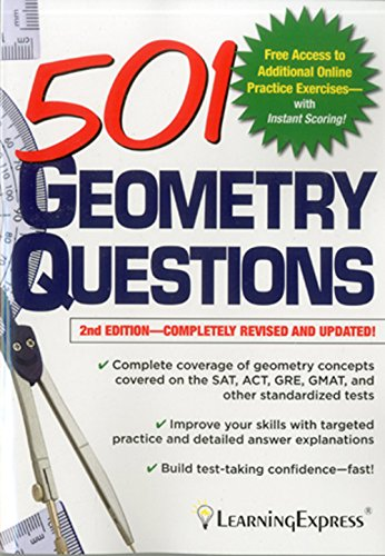 501 Geometry Questions (501 Series): Learning Express Llc
