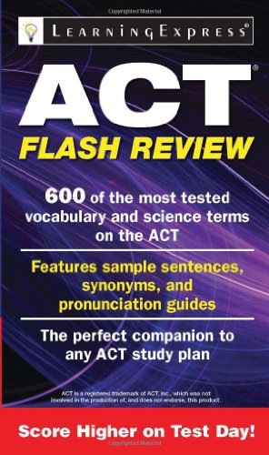 ACT Flash Review: Learning Express Llc