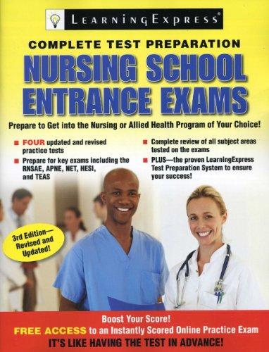 9781576859025: Nursing School Entrance Exams