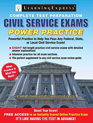 Civil Service Exams: Power Practice: Learning Express Llc