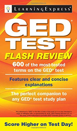 9781576859254: GED Test Flash Review