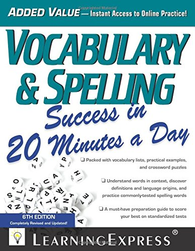9781576859674: Vocabulary & Spelling Success in 20 Minutes a Day