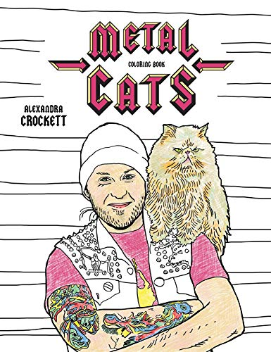 9781576878453: Metal Cats Coloring Book (Colouring Books)