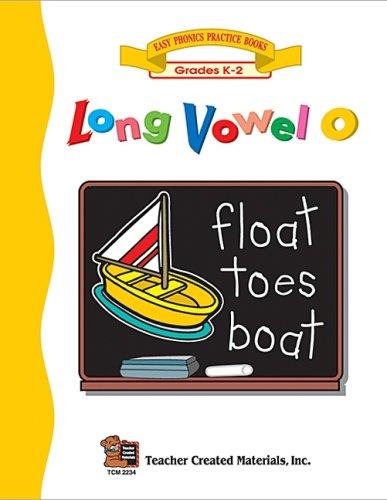 Long Vowel O Workbook: Rice, Dona Herweck