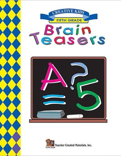 Brain Teasers: Brain Teasers, Grade 5