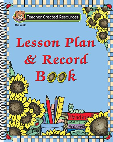 9781576903902: Sunflowers Lesson Plan & Record Book