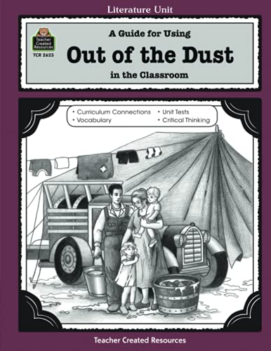 9781576906231: A Guide for Using Out of the Dust in the Classroom (Literature Units)