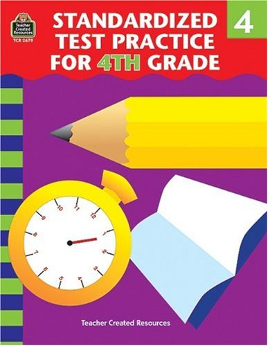 9781576906798: Standardized Test Practice for 4th Grade