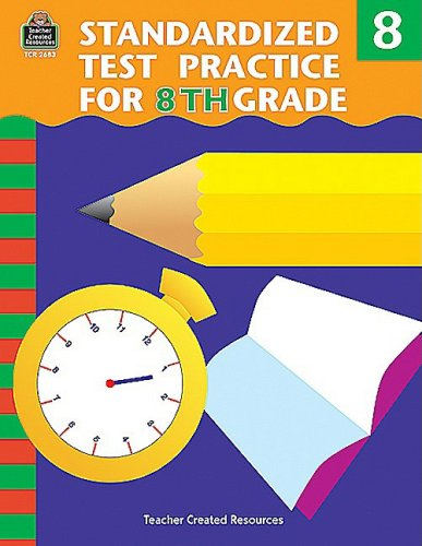 9781576906835: Standardized Test Practice for 8th Grade