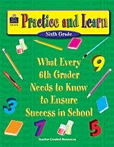 9781576907238: Practice & Learn: 6th (Trade Cover)