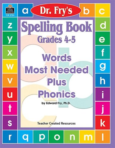 9781576907542: Spelling Book, Level 4-5 by Dr. Fry