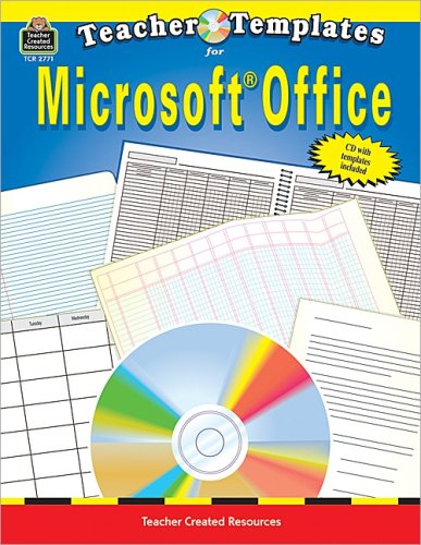 Teacher Templates for Microsoft Office.: Martinez, Javier