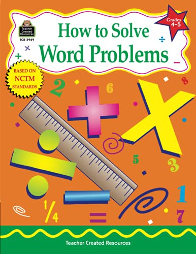 9781576909492: How to Solve Word Problems, Grades 4-5