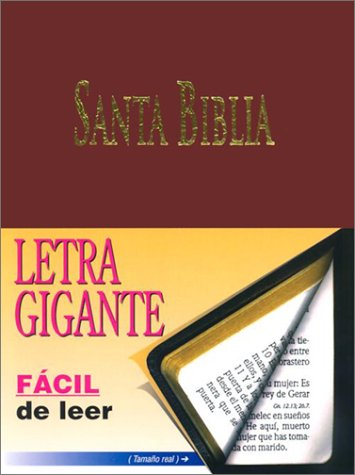 9781576970942: Letra Gigante Santa Biblia-RV 1960 = Giant Print Holy Bible-RV 1960 (Spanish Edition)