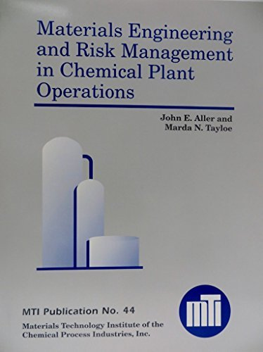 9781576980033: Materials Engineering and Risk Management in Chemical Plant Operations, MTI Publication No. 44