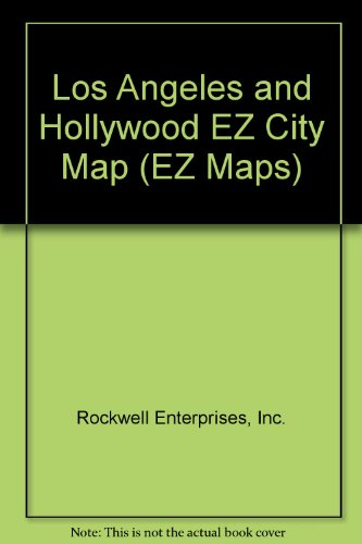 9781577000037: Los Angeles and Hollywood EZ City Map (EZ Maps)