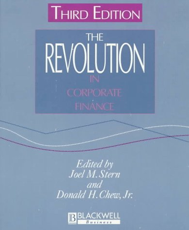 9781577180449: The Revolution in Corporate Finance