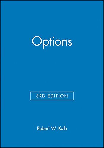 Options (157718064X) by Robert W. Kolb
