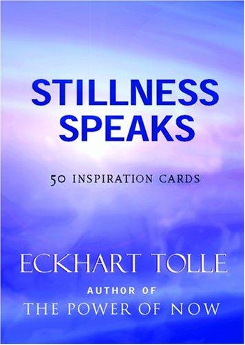 9781577314660: Stillness Speaks Inspiration Deck: 50 Inspiration Cards