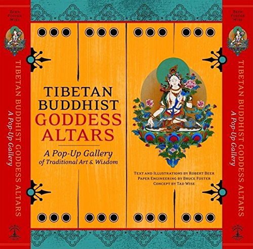 9781577315384: Tibetan Buddhist Goddess Altars: A Pop-Up Gallery of Traditional Art and Wisdom