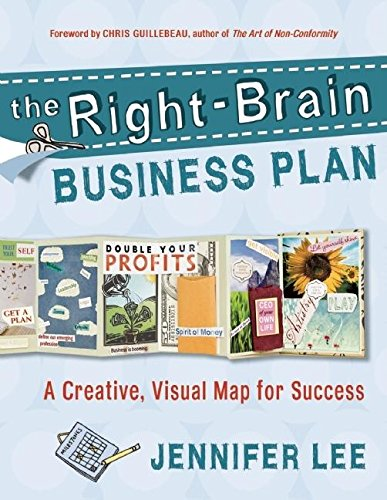 9781577319443: The Right-Brain Business Plan: A Creative, Visual Map for Success