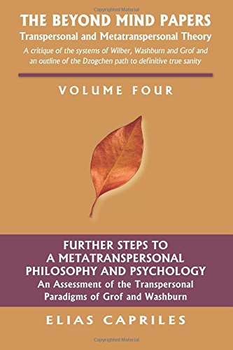 9781577332749: Beyond the Mind Papers: Volume Four: Further Steps to a Metatranspersonal Philosophy and Psychology an Assessment of the Transpersonal Paradigms of Grof and Washburn: Volume 4 (The Beyond Mind Papers)