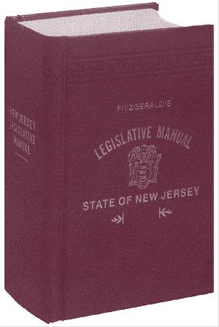 Fitzgerald's Legislative Manual State of New Jersey: Skinder Strauss Associates