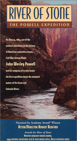 9781577421481: River of Stone - The Powell Expedition [VHS]