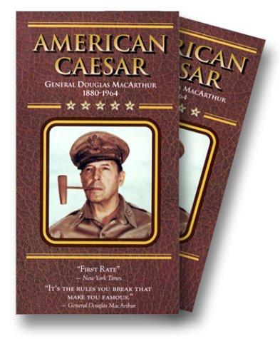 9781577422327: American Caesar - General Douglas MacArthur [VHS]