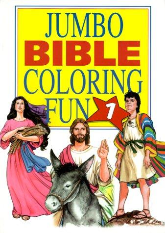 9781577480358: Jumbo Bible Coloring Fun (Jumbo Bible Coloring Books)