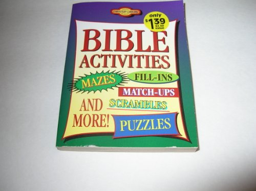 9781577481836: Bible Activities (Young Reader's Christian Library)