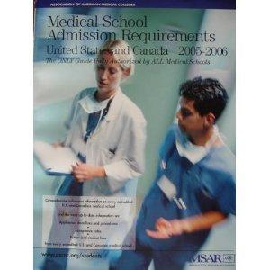 9781577540304: Medical School Admission Requirements (MSAR) 2005-2006: United States and Canada (MEDICAL SCHOOL ADMISSION REQUIREMENTS, UNITED STATES AND CANADA)