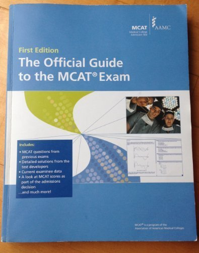 9781577540816: The Official Guide to the MCAT Exam: 2009 Edition