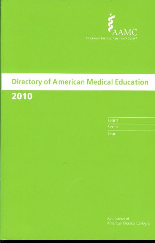 Directory of American Medical Education 2010
