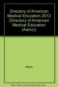 Directory of American Medical Education 2012: n/a