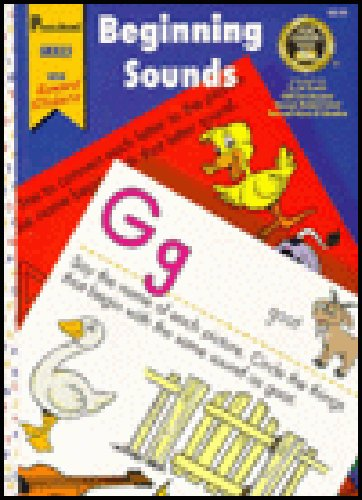 9781577591924: Beginning Sounds: Preschool (Home Learning Tools)