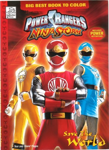 Power Rangers Wild Force Color Book: Dalmation Press