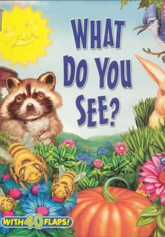 What Do You See? (Big Fun! Super Flap Book)