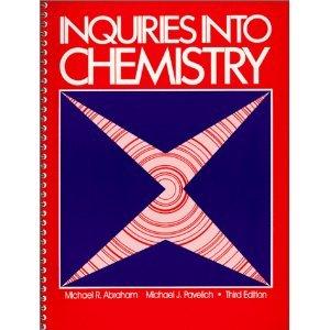 Inquiries Into Chemistry Lab Manual - Teacher's: n/a