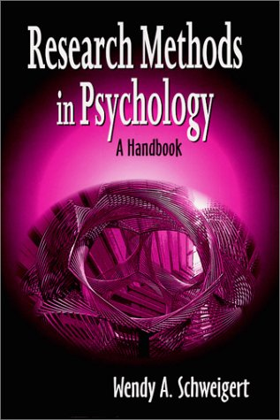 9781577662891: Research Methods in Psychology: A Handbook