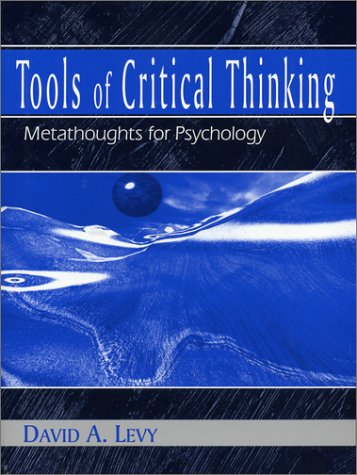 9781577663164: Tools of Critical Thinking: Metathoughts for Psychology