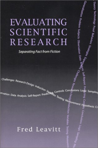 9781577663454: Evaluating Scientific Research: Separating Fact from Fiction