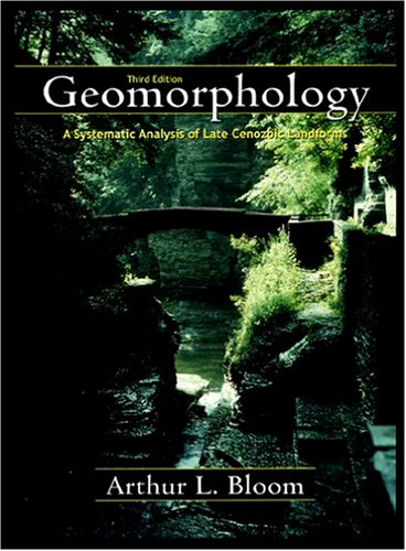 9781577663546: Geomorphology: A Systematic Analysis of Late Cenozoic Landforms