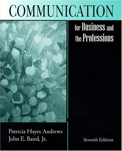 9781577663591: Communication for Business and the Professions