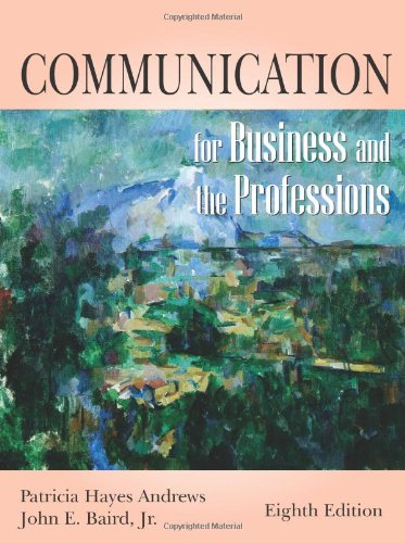 9781577663799: Communication for Business and the Professions