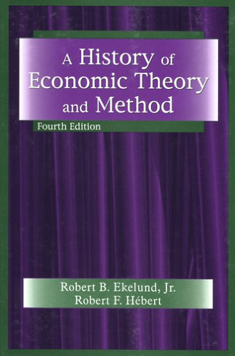 9781577663812: A History Of Economic Theory And Method