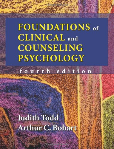 9781577664109: Foundations of Clinical and Counseling Psychology