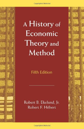 9781577664864: A History of Economic Theory and Method