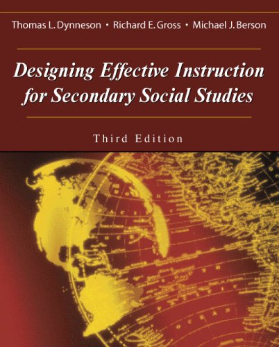 9781577665199: Designing Effective Instruction for Secondary Social Studies